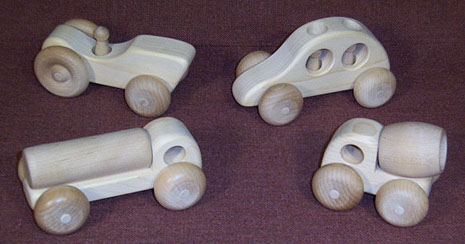 wooden toy zoom cars